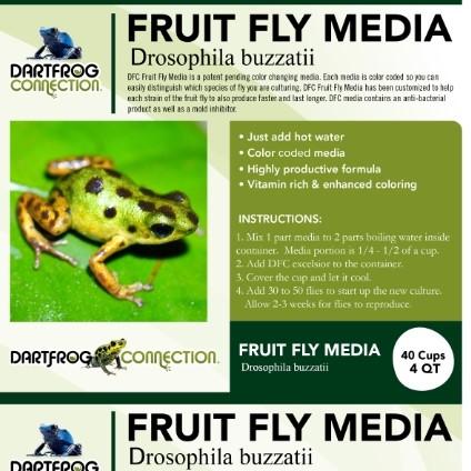 DFC Fruit Fly Media Buzzatii 4 qt