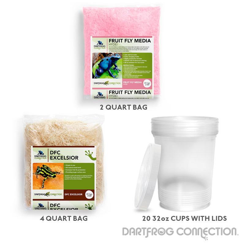 Hydei Fruit Fly Kit- 20 Pack