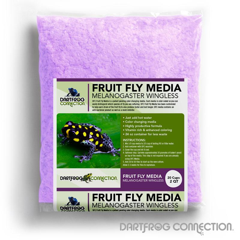 DFC Fruit Fly Media Melanogaster 2 qt