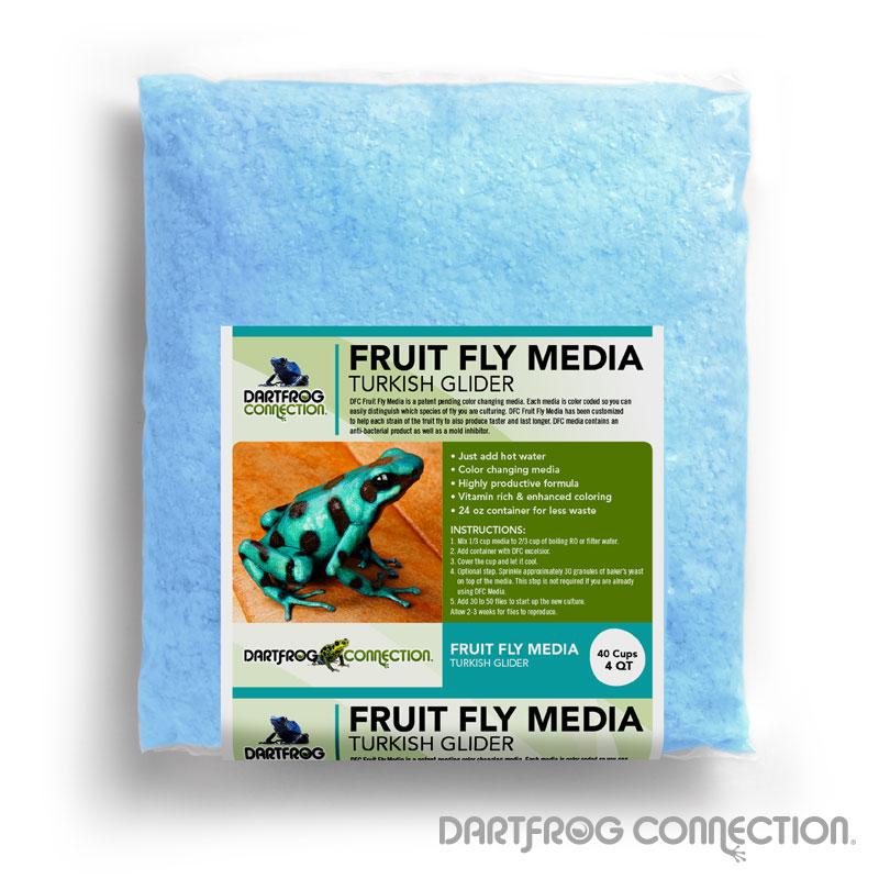 DFC Fruit Fly Media Turkish Glider 4 qt